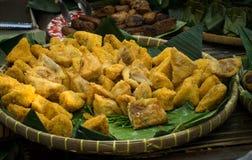 Bakso culinario asiatico di tahu dell'alimento indonesiano tradizionale fotografie stock