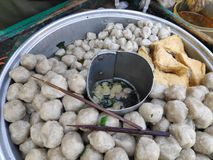 Bakso is one of the most popular street foods in Indonesian cities and villages alike royalty free stock images