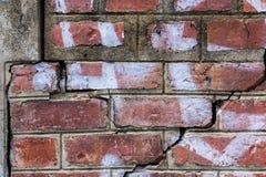Baksteen concrete textuur als achtergrond Stock Afbeelding