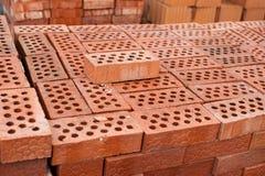 Baksteen en blok Stock Afbeelding