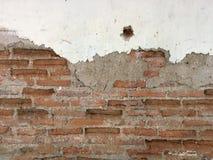 Baksteen grunge muur royalty-vrije stock foto's