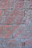 Baksteen met cement stock afbeelding