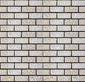 Baksteen van Muur die van Steen wordt gemaakt Royalty-vrije Stock Afbeelding