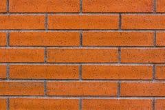 Baksteenkleur als achtergrond, oranje en bruine royalty-vrije stock afbeelding