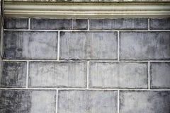 Bakstenen muren. Stock Afbeeldingen