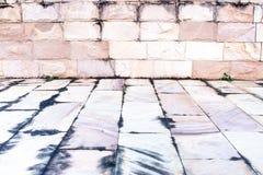 Bakstenen muren Stock Fotografie