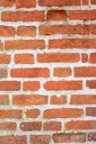 Bakstenen muur. Stock Foto's