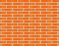 Bakstenen muur. Stock Afbeelding