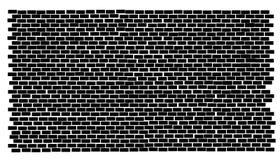 Bakstenen muur stock illustratie