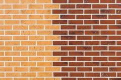 Bakstenen muur Stock Fotografie
