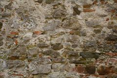 Bakstenen muur Stock Afbeelding