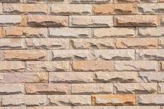 Bakstenen muur. Stock Foto