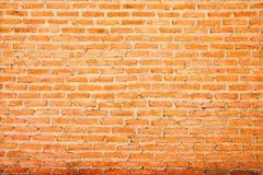 Bakstenen muur. Stock Afbeeldingen