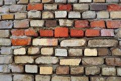 Bakstenen muur 1 Stock Foto's