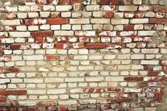 Bakstenen muur 2 Royalty-vrije Stock Afbeeldingen
