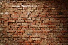 Bakstenen muur achtergrondtextuur Royalty-vrije Stock Foto's