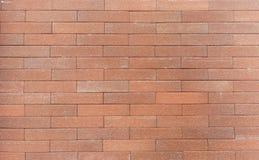 Bakstenen muur in bruine toon Royalty-vrije Stock Foto