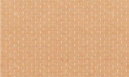 Bakstenen muur, de Gele witte achtergrond van de bakstenen muurtextuur voor grafisch ontwerp, Vector royalty-vrije illustratie