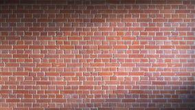 Bakstenen muur het 3d teruggeven Royalty-vrije Stock Afbeelding