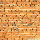 Bakstenen muur Het kan voor prestaties van het ontwerpwerk noodzakelijk zijn Royalty-vrije Stock Afbeelding