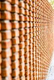 Bakstenen muur met perspectief Stock Afbeelding