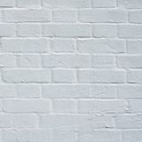 Bakstenen muur met wit die dicht omhoog vergoelijken Royalty-vrije Stock Foto