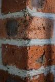 Bakstenen muur, textuurhoek Royalty-vrije Stock Foto's