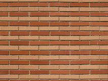 Bakstenen muur twee kleuren Royalty-vrije Stock Fotografie