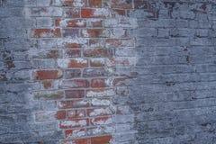 Bakstenen muur van Historische Burgeroorlog Fort2 royalty-vrije stock afbeeldingen