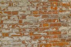 Bakstenen muur van Historische Burgeroorlog Fort3 royalty-vrije stock afbeelding