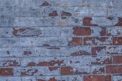 Bakstenen muur van Historische Burgeroorlog Fort5 royalty-vrije stock afbeelding