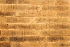 Bakstenen muurachtergrond Stock Foto