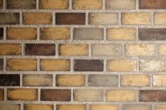 Bakstenen muurachtergrond Royalty-vrije Stock Afbeeldingen