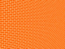 Bakstenen muurachtergrond Royalty-vrije Stock Afbeelding