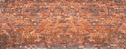 Bakstenen muurachtergrond, grunge het oude huis van het textuurmetselwerk royalty-vrije stock afbeeldingen