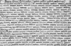 Bakstenen muurachtergrond of textuur Oude uitstekende bakstenen muur Stock Foto