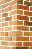 Bakstenen muurhoek Royalty-vrije Stock Afbeeldingen