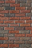 Bakstenen muurpatronen Royalty-vrije Stock Foto's