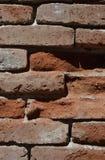 bakstenen muurtextuur Stock Afbeelding