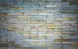 bakstenen muurtextuur Architecturale achtergrond Royalty-vrije Stock Afbeeldingen
