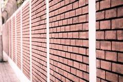bakstenen muurtextuur Architecturale achtergrond Royalty-vrije Stock Foto's