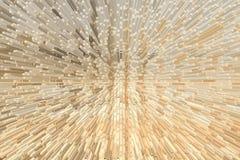 Bakstenen muurtextuur, 3d blokstijl Royalty-vrije Stock Fotografie