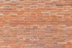 Bakstenen muurtextuur of bakstenen muurachtergrond bakstenen muur voor binnenlands buitendecoratieontwerp Stock Afbeelding