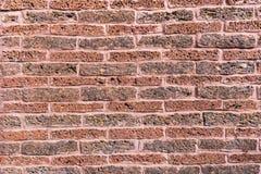 Bakstenen muurtextuur of bakstenen muurachtergrond bakstenen muur voor binnenlandse buitendecoratie en industrieel bouwontwerp royalty-vrije stock fotografie