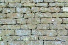 Bakstenen muurvakmanschap Stock Fotografie
