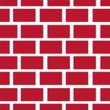 Bakstenen muurvector Stock Foto's