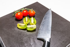 Baktala och grönsaker royaltyfri fotografi