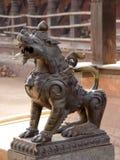baktaphur狮子 免版税库存照片