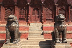 Baktapur, Nepal. Fotografia Stock Libera da Diritti