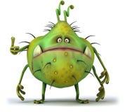 bakterie royaltyfri illustrationer